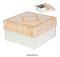 Коробка №17 Узор. Материал: картон. Россия. Размер: 21 х 21 х 12 см. - фото 7008