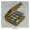 Коробка на 9 капкейков с окном ЮП Крафт, картон. Размер: 25 х 25 х10 см - фото 8196
