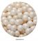 Посыпка шарики Белые микс №126 драже зерновое 12-13 мм. Вес: 50 гр - фото 9317